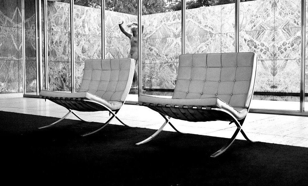 sillas pabellón barcelona